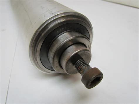 High Speed Precision Ball Bearing Aluminum Conveyor Roller