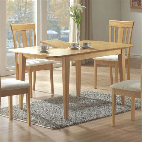 extendable dining table in maple i 4267