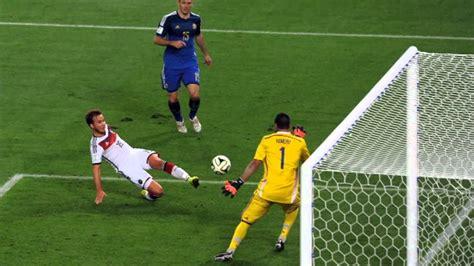 germanys  world cup final goal scored  mario goetze