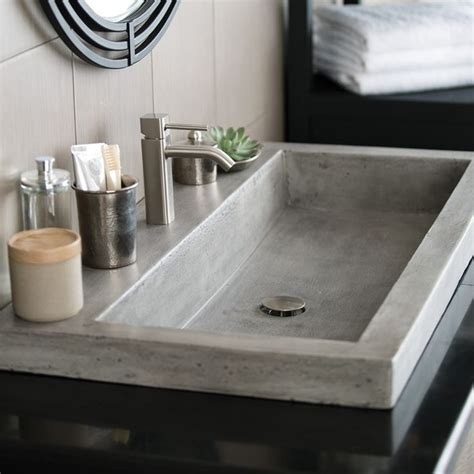 sink smells like sewer 25 best ideas about concrete countertops bathroom on