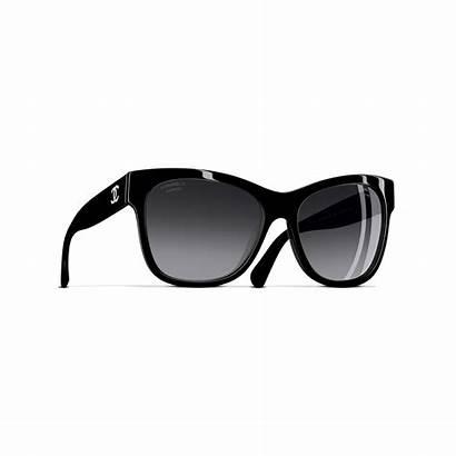 Sunglasses Chanel Square Polarized Lenses Eyewear Acetate