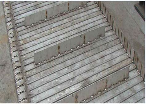 Transmission Metal Conveyor Belts , Dry Slag Steel