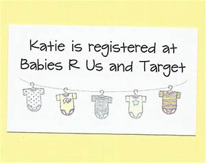 registry etsy With baby registry announcement cards template