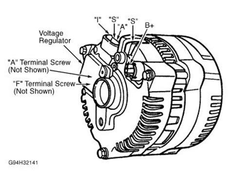 Ford Ranger Alternator Wiring Electrical Problem