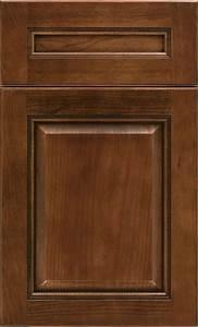 Dark Cherry Kitchen Cabinets - Kemper Cabinetry