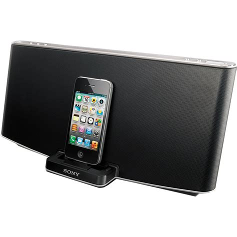 iphone speaker dock sony rdp x200ip speaker dock for ipod iphone rdpx200ip