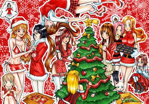 Merry Xmas To All Manga Lovers By Kirakam On Deviantart