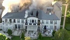 Lisa Vanderpump's former Bevery Hills home on fire ...