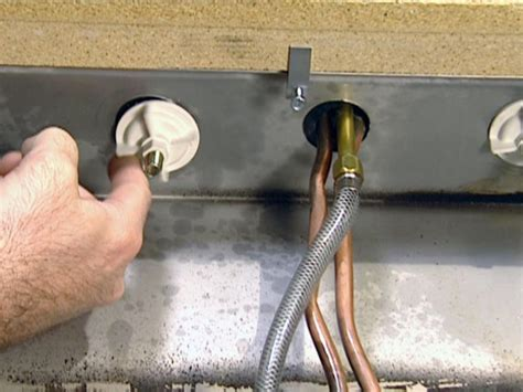 how to install a kitchen faucet how to install a single handle kitchen faucet how tos diy