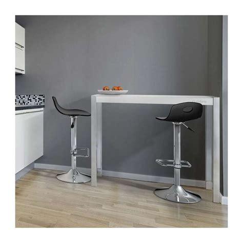 console bar cuisine console moderne en verre hauteur 90 cm cumbre 4 pieds
