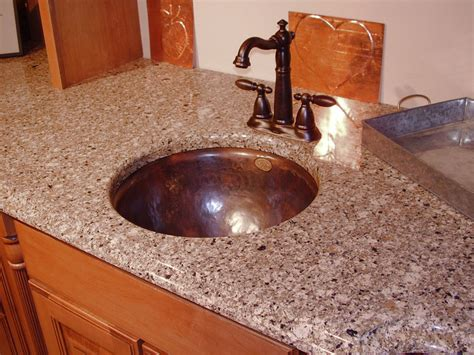 Copper Bathroom Sinks-copper Spun Custom Vanity Copper