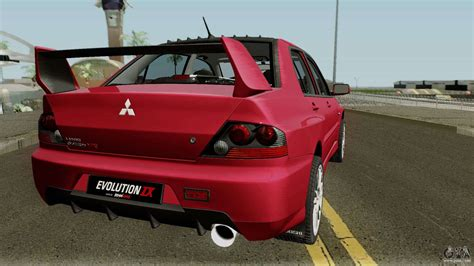 Mitsubishi Stock by Mitsubishi Lancer Evolution Ix Stock Hq For Gta San Andreas