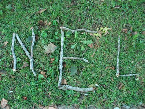 twig letters   monogram alphabet   inspiring word   branches  sticks