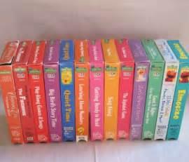 Sesame Street VHS Lot eBay