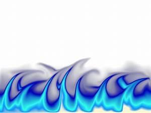 Blue Flames Transparent Steps Related Keywords - Blue ...