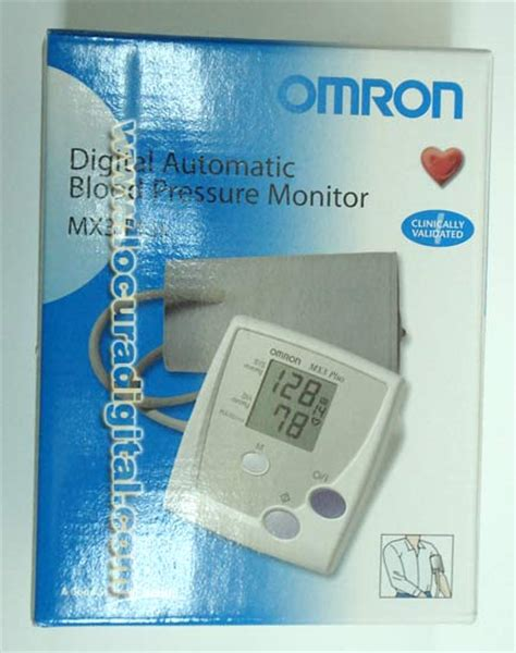 Omron Mx3 Plus Tensiómetro De Brazo Digital