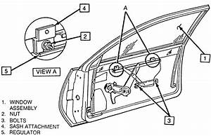 Solved  How Do You Replace The Passenger Door Window On A