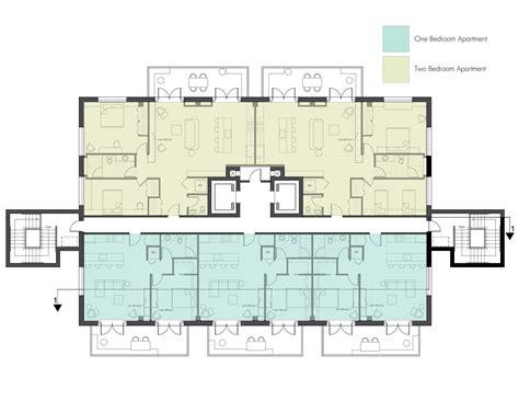 house build plans apartment building exterior complete plans unit mid
