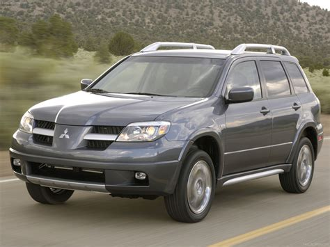 Mitsubishi Outlander 2006 by Mitsubishi Outlander Se 2006 Picture 05 1600x1200
