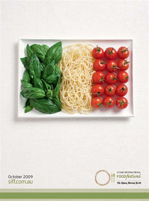 cuisine ad sydney international food festival flags the inspiration