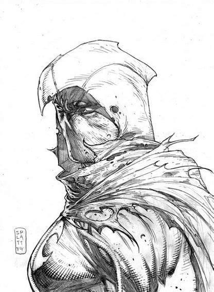 Moon Knight - Stephen Platt   Marvel comics art, Moon knight, Marvel moon knight