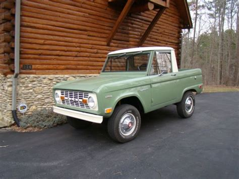 ford bronco  classic ford bronco   sale