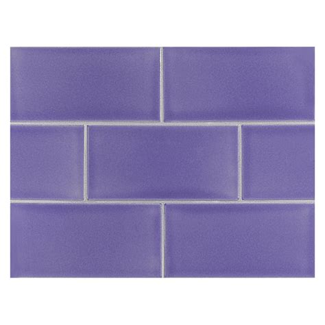 blue ceramic subway tile vermeere ceramic tile lt royal blue gloss 3 quot x 6 4803