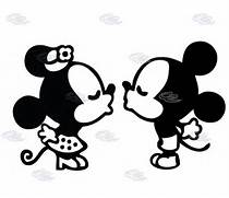 Mickey And Minnie ...Mickey Mouse And Minnie Kissing