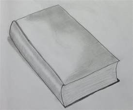 Sketch Pencil Drawings of Books