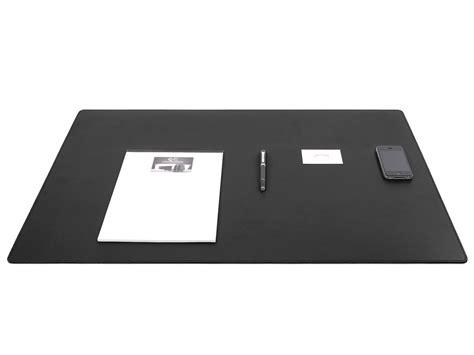 sous mains de bureau grand sous de bureau en cuir noir 80 cm par 50 cm