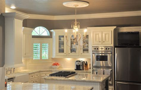 Bianco Romano Granite   Transitional   kitchen   Benjamin