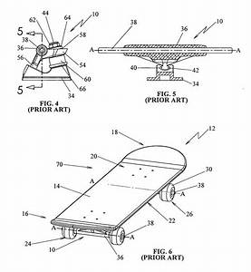Patent Us8251383 - Skateboard Truck Assembly
