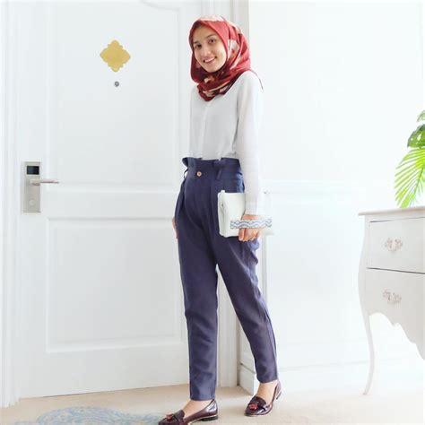 tips memilih fashion hijab  kampus  tetap