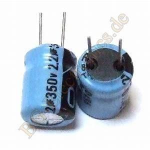 Schaltkreise Berechnen : 10 x 2 2 f 350v rm5 elko kondensator capacitor ~ Themetempest.com Abrechnung