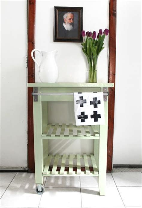 ikea kitchen cart makeover ikea kitchen cart makeover home projects we 4508