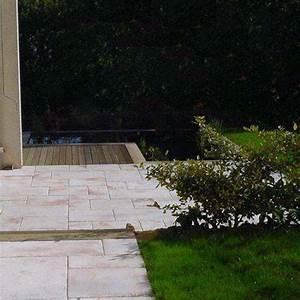 Dalle Pierre Terrasse : posez facilement les dalles terrasse en pierre reconstitu e pour un effet assur ~ Preciouscoupons.com Idées de Décoration