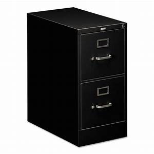 hon 510 series 2 drawer letter size vertical file black With hon 510 series 2 drawer letter file