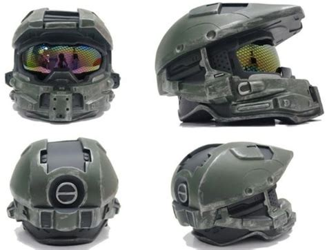 Halo 4 Cosplay Master Chief Helmet Mask Full Size