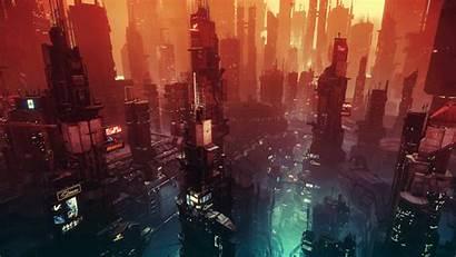 Cyberpunk Sunset 4k Wallpapers