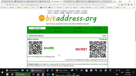 You might want to look into this option if your btc wallet or private key is still nowhere to be found. How to create a bitcoin wallet online - YouTube