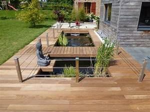 amnagement terrasse et jardin awesome dscjpg with With awesome mobilier de piscine design 8 nos realisations de jardin et amenagement dexterieur en