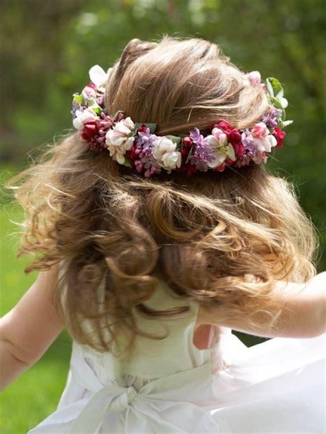 coiffure enfant mariage