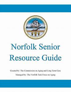 Norfolk Senior Resource Guide By City Of Norfolk
