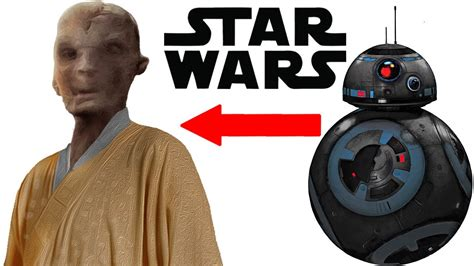 New Snoke Info And Evil Bb 8 Droid Revealed Star Wars
