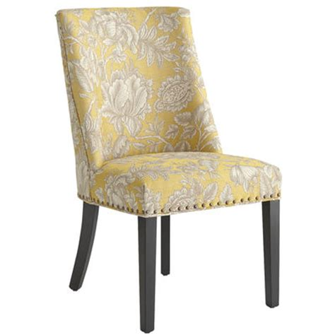 corinne dining chair gold floral pier 1 imports