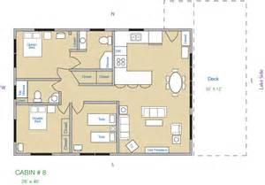 3 bedroom cabin floor plans cabin 8 kee nee moo sha on lake cass county minnesota