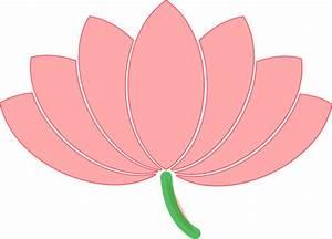 Pink Lotus Clip Art at Clker.com - vector clip art online ...