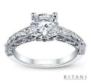 vintage style wedding bands engagement rings robbins brothers engagement rings proposals weddings