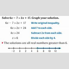 63 Solve Multistep Inequalities  Match Club Help Site