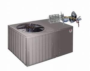 Rheem 14 Seer 5 0 Ton Heat Pump Package Unit Horizontal